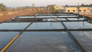 Ponding Method of Curing Concrete