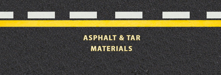 Asphalt & Tar Materials in Construction