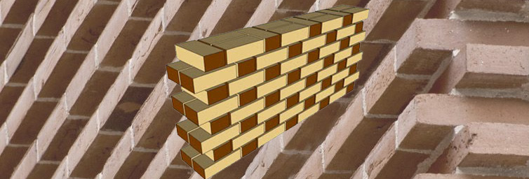 Various types of bonds used in Brick Masonry