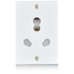 20A & 10A, UNI Power Sockets (2 Fixing Holes)