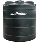 Roto Moulded Tank - 300 Ltrs (2 Layer Black)