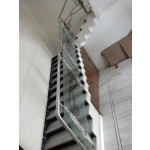 Stainless Steel Steel Railing with Glass Railing