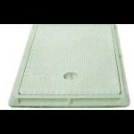 FRP Manhole Cover - Rectangular LD 5 Ton