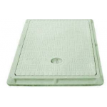 FRP Manhole Cover - Rectangular ELD 2.5 Ton