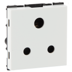 6A 3 pin shuttered socket with ISI marking