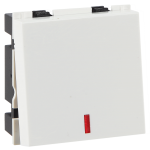 32A DP switch with indicator - 2M