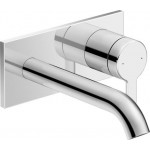 Single lever basin mixer for concealed installation