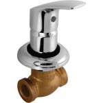 Concealed Stop Value Heavy Body with Wall Flange (205mm)