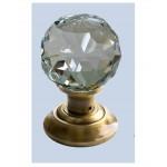 Dorset Crystal Knob - SS/SC