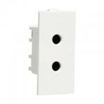 Crabtree's ATHENA 6 A 2 Pin Shuttered Socket (Anti-Viral) (White)