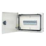 IP43 Double Door DBs - Plain Door - 4 Way, 4 Modules