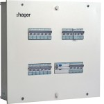 IP30 Single Door DBs (Incomer plus Outgoing Modules) - 4 Way, 8 plus 12 Modules