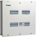 IP30 Single Door DBs (Incomer plus Outgoing Modules) - 6 Way, 8 plus 18 Modules