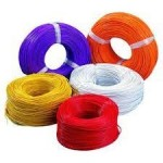 RR Kabel's PVC Insulated Single Core 0.75 Sq mm FR Cable - 200Mtrs