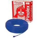 Finolex's PVC FR INS.1100V HV INDL. CABLE - 1.0 SQMM (1CORE BLUE - 180M)