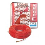 Finolex's PVC FR INS.1100V HV INDL. CABLE - 1.0 SQMM (1CORE RED - 180M)