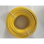 Finolex's PVC FR INS.1100V HV INDL. CABLE - 4 SQMM (1CORE YELLOW - 180M)