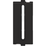 F-31 20A. 2 Way Switch with Indicator - Velvet Black/Silver Graphite
