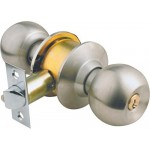 Yale Cylindrical Round Stainless Steel Door Lock with Key