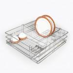 Lifestyle's Multipurpose Partition Basket - 8mm