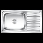 Nirali's Elegence Ultra Glossy Kitchen sink - 36x20x8