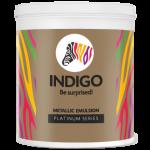 Indigo Paints - Metallic Emulsion - Platinum Series - 500 ml