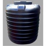 Blow Moulded Tank - 300 Ltrs (3 Layer Black)