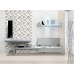 Zirve Grey Square Decor - 300x450mm