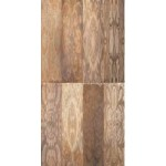 Qutone Taco Brown Decor Wall Tile 600mm x 300mm