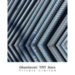 Fe-550 Grade Dhanlaxmi TMT Bar - 25mm