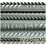 Vizag TMT Bar Fe-500 Grade - 8mm