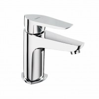 Single Lever Basin mixer with 305mm(12inch) extended body and 450mm braided connection pipe (without pop-up)