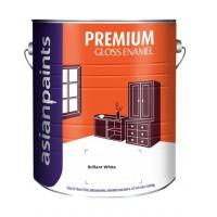 Asian Paints Apcolite Premium Gloss Enamel - White - 4 Ltrs - Brilliant White
