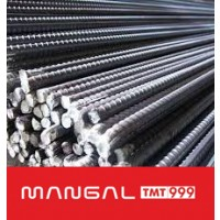 Fe-500 Grade Mangal TMT Bar - 20mm