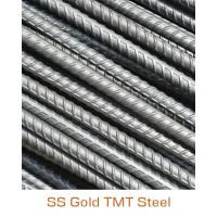 SS Gold TMT Bar Fe-500 Grade - 10mm