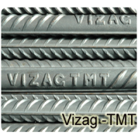 Vizag TMT Bar Fe-550 Grade - 8mm