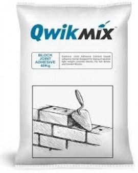 Qwikmix™ Block Joint Adhesive - 40 Kgs