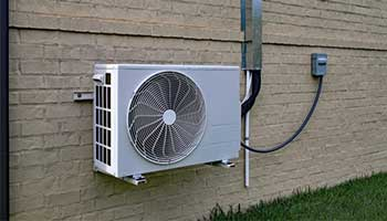 Ductless mini-split ac system