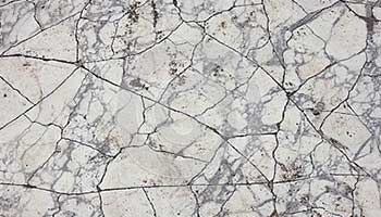 Marble is very brittle in nature