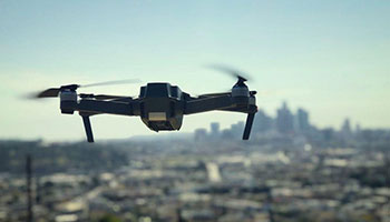 Security is significantly improved using drone technology
