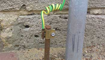Earthing ensures that an electrical system is safe from leakage and assures human safety