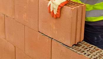 Porotherm bricks are 60% lighter than conventional bricks