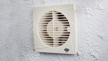 Exhaust fans circulate air and remove unpleasant odours from inside the house