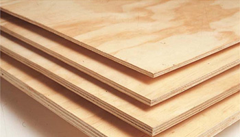 High strength plywood is resistant to splitting