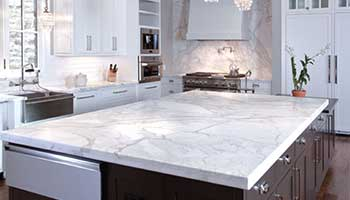 Marble surfaces are easy to polish