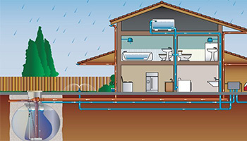 Rainwater Harvesting involves collecting and storing rainwater for future utilisation