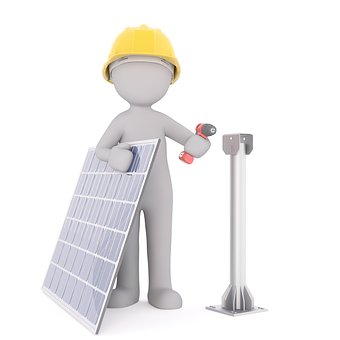 Solar power is of high value and easy maintenance
