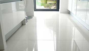 White flooring works with all interiors