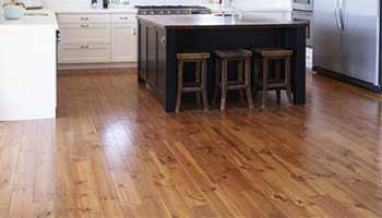 Wooden kitchen flooring is highly durable