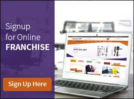 Sign up for Online Franchise